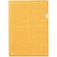 リヒトラブ カラークリヤーホルダー 橙 A4タテ F78-4 1袋(5枚入)