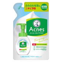 メンソレータム アクネス 薬用ふわふわな洗顔料 詰替 140mL ロート製薬
