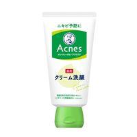 メンソレータム アクネス 薬用クリーム洗顔 130g ロート製薬