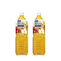アサヒ飲料 バヤリースホテルブレックファーストアップル100 1.5L 1セット(2本)
