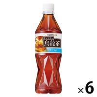 サントリー 烏龍茶 525ml 6本