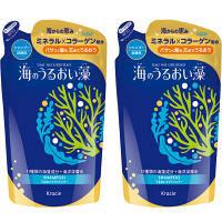海のうるおい藻 シャンプー アクアフローラルマリンの香り 詰め替え 420ml 1セット(2個) クラシエホームプロダクツ