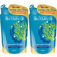 海のうるおい藻 リンスインシャンプー アクアフローラルマリンの香り 詰め替え 400ml 1セット(2個) クラシエホームプロダクツ
