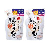 サナ なめらか本舗 乳液 NA 詰替用 1セット(2個) ミニチュアサンプルセット付 常盤薬品工業