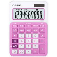 カシオ カラフル電卓 ベイビーピンク