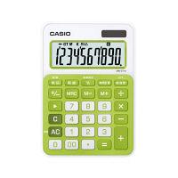 カシオ計算機 カラフル電卓 MW-C11A-GN(シトラスグリーン)