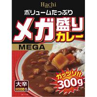 ハチ食品 メガ盛りカレー 大辛 300g