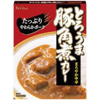 ハウス食品 とろうま豚角煮カレー まろやか中辛 210g 1食