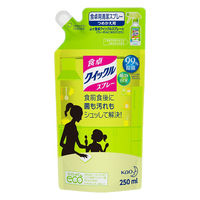 花王 食卓クイックル スプレー つめかえ ほのかな緑茶の香り 250ml 276438