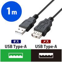 USB2.0延長ケーブル A-A 1m