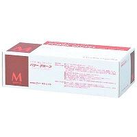 ファーストレイト パワーグローブ M 粉なし(パウダーフリー) ラテックス FR-962 1ケース(100枚×10箱入) (使い捨て手袋)