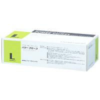 ファーストレイト パワーグローブ L 粉なし(パウダーフリー) ラテックス FR-963 1ケース(100枚×10箱入) (使い捨て手袋)