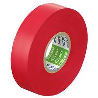ニトムズ ビニルテープS 赤 19mm×20m巻 J2581