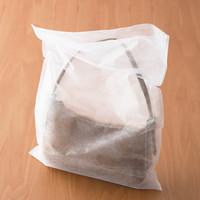 「現場のチカラ」不織布平袋 ホワイト 小 1袋(200枚入) アスクル