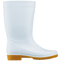 白長靴 28cm アスクル