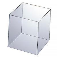 アクリル製 キューブ型ディスプレイ15cm角
