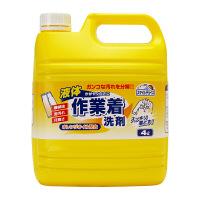 スマイルチョイス 液体作業着洗剤 業務用4L ミツエイ
