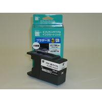 エコリカ リサイクルインク ECI-BR17B ブラック(大容量)(ブラザー LC17BK ブラック互換)