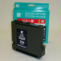 エコリカ リサイクルインク ECI-RC31HB ブラック(大容量)(アスクル限定)(リコー GC31KH互換)