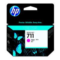 HP インクジェットカートリッジ HP711 マゼンタ CZ131A