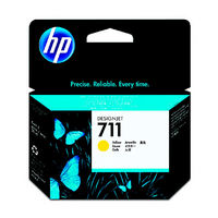 HP インクジェットカートリッジ HP711 イエロー CZ132A