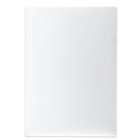 プラス 高透明カラークリアホルダー A4 クリア 1袋(10枚)