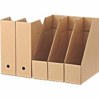 無印良品 ダンボールスタンドファイルボックス・5枚組(A4用) 5365104