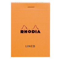 ロディア ブロックロディア NO.11(A7) オレンジ 横罫線 cf11600