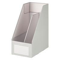 コクヨ ファイルボックスS<ワイドタイプ> A4タテ グレー フ-EW450M 1セット(5冊:1冊×5)