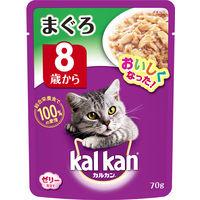 kalkan(カルカン) キャットフード パウチ 8歳から まぐろ 70g 1箱(16袋入) マースジャパン
