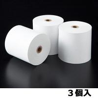 【感熱紙】レジロール 普通保存 幅80mm×外径80mm 1パック(3巻入)