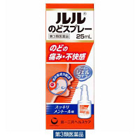 【第3類医薬品】ルルのどスプレー 25ml 第一三共ヘルスケア