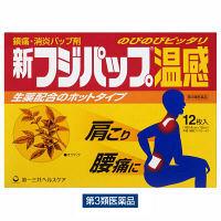【第3類医薬品】新フジパップ温感 12枚 第一三共ヘルスケア