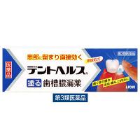 【第3類医薬品】デントヘルスR 1箱(40g) ライオン