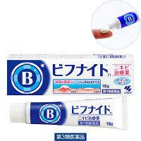 【第3類医薬品】ビフナイトsニキビ治療薬 18g 小林製薬