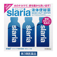 【第3類医薬品】スラーリア便秘内服液 120ml×3本 ロート製薬