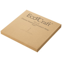 Bagcraft ワックスペーパー ラップシート 未晒し 厚手 大判サイズ 1セット(500枚入×6箱)