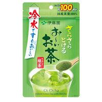 【水出し可】伊藤園 おーいお茶抹茶入りさらさら緑茶 80g