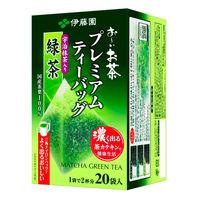 プレミアムTB抹茶入り緑茶20P