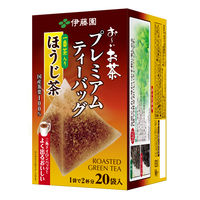 【水出し可】伊藤園 プレミアムティーバッグ一番茶入りほうじ茶 1.8gx20P