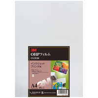 スリーエム ジャパン OHPフィルム インクジェットプリンタ用 CG3110 1箱(40枚入)