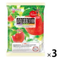 マンナンライフ 蒟蒻畑 りんご味 3袋