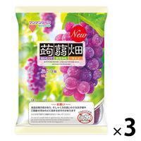 マンナンライフ 蒟蒻畑 ぶどう味 3袋