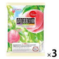 マンナンライフ 蒟蒻畑 白桃味 3袋