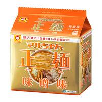 マルちゃん正麺 味噌味 1パック(5食入)