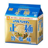 東洋水産 マルちゃん正麺 旨塩味 5食パック 112g×5食入
