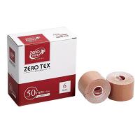 日進医療器 ZEROテックス(キネシオテープ) 50mm×5m 783422 1箱(6巻入) (取寄品)