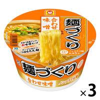 麺づくり 合わせ味噌みそ味104g 3食