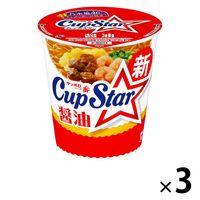サッポロ一番 カップスターしょうゆ 3食