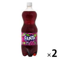 コカ・コーラ ファンタ グレープ 1.5L 1セット(2本)